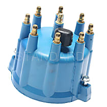 Standard FD-175 Distributor Cap - Black, Direct Fit, Sold individually