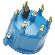 Distributor Cap - Blue, Direct Fit, Sold individually