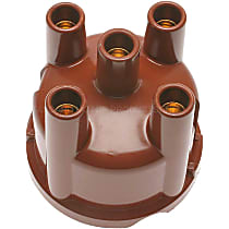 GB-402 Distributor Cap - Brown, Direct Fit, Sold individually