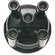 GB423T Distributor Cap - Black, Direct Fit, Sold individually