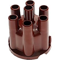 GB-424 Distributor Cap - Dark Brown, Direct Fit, Sold individually