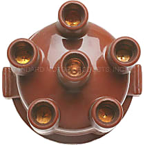 GB-428 Distributor Cap - Brown, Direct Fit, Sold individually