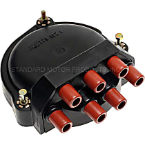 GB-433 Distributor Cap - Black, Direct Fit, Sold individually