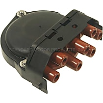 GB-446 Distributor Cap - Black, Direct Fit, Sold individually