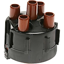 GB-466 Distributor Cap - Black, Direct Fit, Sold individually
