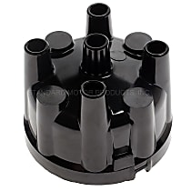 IH-443 Distributor Cap - Black, Direct Fit, Sold individually