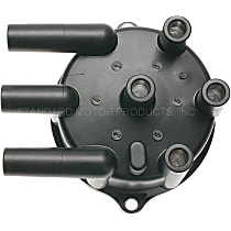 Distributor Cap - Black, Direct Fit, Sold individually