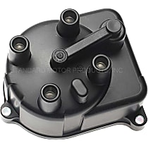 JH157T Distributor Cap - Brown, Direct Fit, Sold individually
