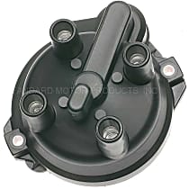 Standard JH-201 Distributor Cap - Black, Direct Fit, Sold individually