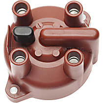 Distributor Cap - Dark Brown, Direct Fit, Sold individually