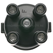 Standard JH-234 Distributor Cap - Black, Direct Fit, Sold individually