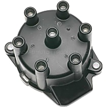 JH-252 Distributor Cap - Black, Direct Fit, Sold individually