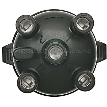 Standard JH-71 Distributor Cap - Black, Direct Fit, Sold individually