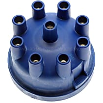 LU-433 Distributor Cap - Blue, Direct Fit, Sold individually