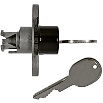 STDTL-109B Trunk Lock - Black, Direct Fit, Sold individually
