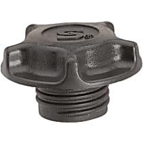 Oil Filler Cap - Black, Plastic, Direct Fit, Sold individually