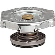 10206 Radiator Cap - Round, 7 lbs., Polished, Steel, Sold individually