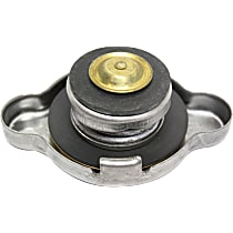 Stant Radiator Cap - 10227 - Round, 13 lbs., Polished, Steel, Sold individually