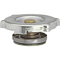10228 Radiator Cap - Round, 7 lbs., Polished, Steel, Sold individually