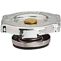 10235 Radiator Cap - Round, 20 psi, Polished, Steel, Sold individually