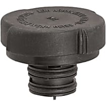 10246 Radiator Cap - Round, 20 lbs., Black, Plastic, Sold individually