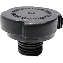Radiator Cap - Round, 30 lbs., Black, Plastic, Sold individually