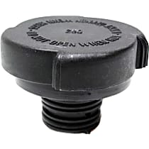Radiator Cap - Round, 30 lbs., Black, Plastic, Sold individually