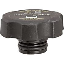 10248 Radiator Cap - Round, 15 lbs., Black, Plastic, Sold individually