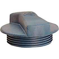 Radiator Cap - Round, 22 lbs., Gray, Plastic, Sold individually