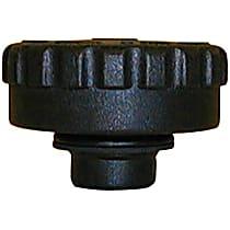10255 Radiator Cap - Round, 18 lbs., Black, Plastic, Sold individually