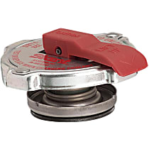 Radiator Cap - Round, 7 lbs., Polished, Steel, Sold individually