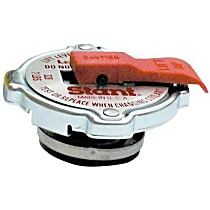 10335 Radiator Cap - Round, 20 lbs., Polished, Steel, Sold individually
