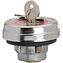 Gas Cap - Chrome, Locking, Direct Fit, Sold individually