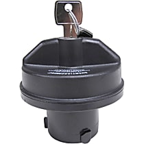 10502 Gas Cap - Black, Locking, Direct Fit, Sold individually