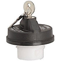 10508 Gas Cap - Black, Locking, Direct Fit, Sold individually