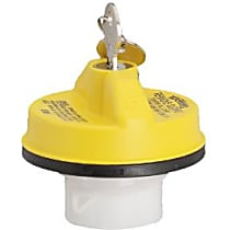 Stant 10508Y Gas Cap - Yellow, Locking, Direct Fit, Sold individually