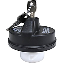 10511 Gas Cap - Black, Locking, Direct Fit, Sold individually