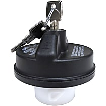 Gas Cap - Black, Locking, Direct Fit, Sold individually
