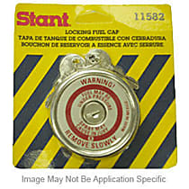Stant 10512 Gas Cap - Black, Locking, Direct Fit, Sold individually