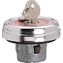 10571 Gas Cap - Chrome, Locking, Direct Fit, Sold individually
