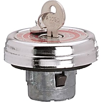 Stant 10571 Gas Cap - Chrome, Locking, Direct Fit, Sold individually