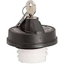 10595 Gas Cap - Black, Locking, Direct Fit, Sold individually