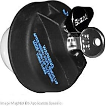 10596 Gas Cap - Black, Locking, Direct Fit, Sold individually