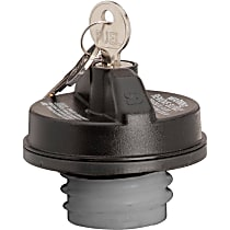 10597 Gas Cap - Black, Locking, Direct Fit, Sold individually