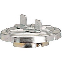 Gas Cap - Zinc-Plated, Non-locking, Direct Fit, Sold individually