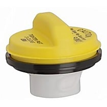 10840Y Gas Cap - Yellow, Non-locking, Direct Fit, Sold individually