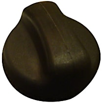 10844 Gas Cap - Black, Non-locking, Direct Fit, Sold individually
