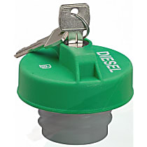 Stant 17591D Gas Cap - Green, Locking, Direct Fit, Sold individually