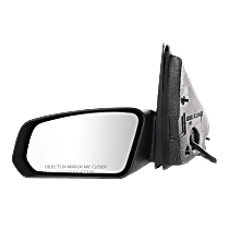 Mirror Non-folding - Driver Side, Power Glass, Textured Black