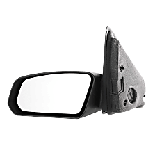 Mirror - Driver Side, Textured Black, For Sedan